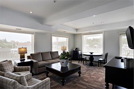 Lodge room interior